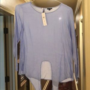 NWT Ann Taylor blouse with tie details!